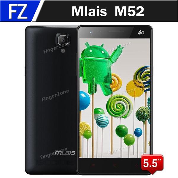 Мобильный телефон Mlais M52 5.5 OGS MTK6752 64 4.4 4G LTE 13 CAM 2 ram, 16 ROM мобильный телефон lenovo note8 4g mtk6752 13 0mp 6 0 hd 2 8 3300mah