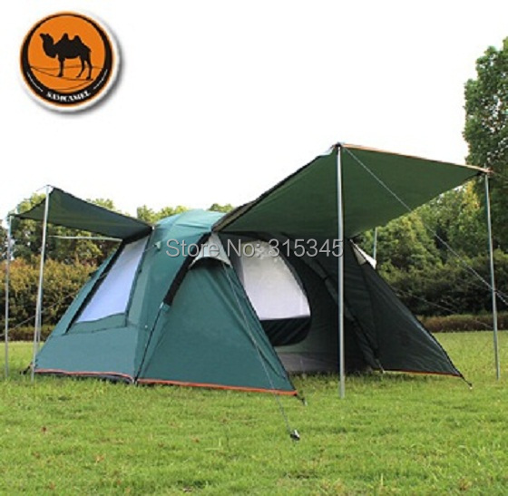 Camel 3-4 person outdoor large family tent camping tent sun shelter gazebo beach tent for Advertising/exhibition(China (Mainland))