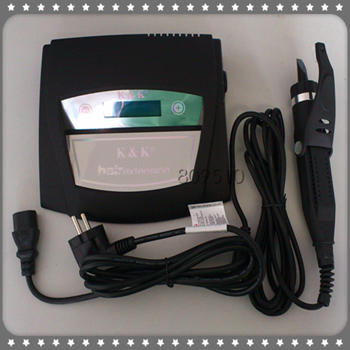 Latest Digital Ultrasonic Hair Extensions Fusion Machine/ Connector GH-HC6010 SPECIAL PACKING BAG 1pcs/lot