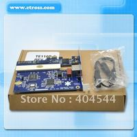 FREE SHIPPING TE110P-E Asterisk card with 1 E1/T1 ports PCIE interface