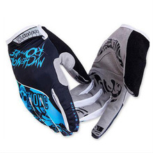 Bat Fox GEL Full Finger Men Cycling Gloves mtb bike gloves/bicycle ciclismo racing sport breathable thick shockproof RS004(China (Mainland))