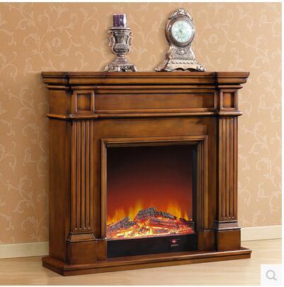 Achetez en gros lectrique bois chemin e en ligne des - Chimeneas de madera decorativas ...