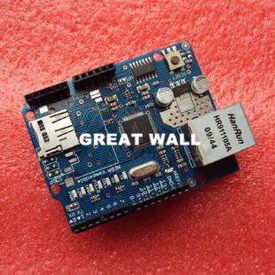 Гаджет  UNO Shield Ethernet Shield W5100 R3 UNO Mega 2560 1280 328 UNR R3 < only W5100 Development board FOR arduino None Электронные компоненты и материалы