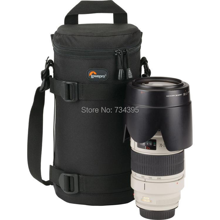Lowepro LC4 padded Lens Case 4 waterproof Lens barrel Camera bag pouch for Sigma Nikon Canon EF 70-200mm f/2.8 (11 cmx26cm)(China (Mainland))