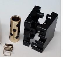 4 шт./лот 3D принтер запчасти Ultimaker 2 UM2 оригинальный впрыска слайдер с медной гильзой