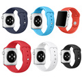 For Apple watch Band 42mm Correa Silicone Sport Adapter Bracelet for iWatch Strap Band 38mm