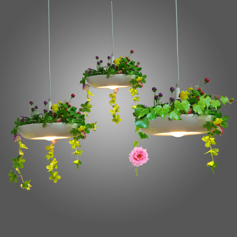 1Pc Nordic country pendant lamp wind pot disk Babylon Babylon plant Pendant Lights pots hanging lamp(China (Mainland))