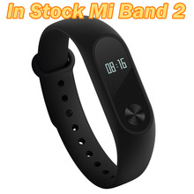 In Stock Original Xiaomi Mi Band 2 Miband Band2 Wristband Bracelet Smart Heart Rate Fitness Tracker Touchpad OLED Strap(China (Mainland))