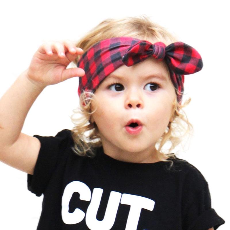 DIY Infant Baby Girls Toddler Newborn Bow Knot Headband Dot Rabbit Ears Hairband Turban Bow Knot Head Wrap Hair Band Accessories(China (Mainland))