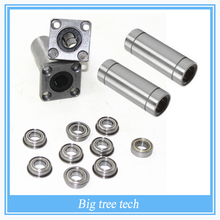 1Set Ultimaker 2 3D Printer Ball Bearings / Square Flanged Linear Bearings