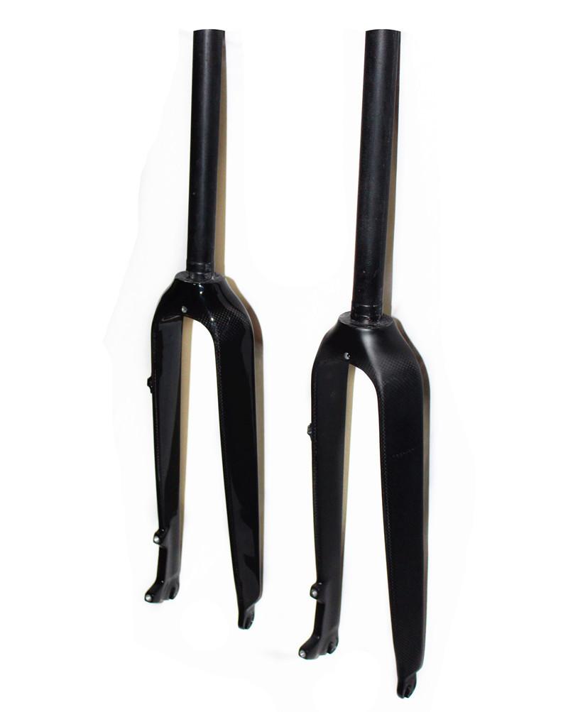 MTB full carbon fork fiber mountain bike fork carbon fiber hard fork mountain bike hard fork disc(China (Mainland))