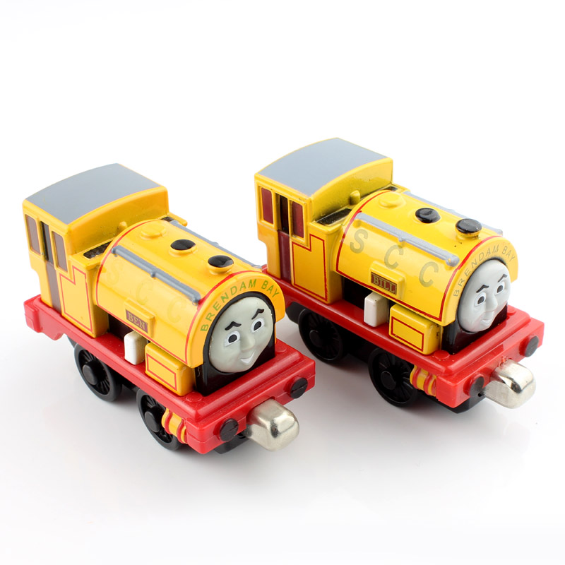Bill Ben Children Thomas and friends trains magnetic metal diecast model tomas toys rail loose Jugetes miniatures gifts for kids(China (Mainland))