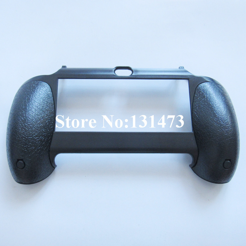 1pcs Durable Plastic Hand Grip Handle Joypad Bracket Stand Case Black For Sony PS Vita PSV 1000 Controller Console Accessory(China (Mainland))