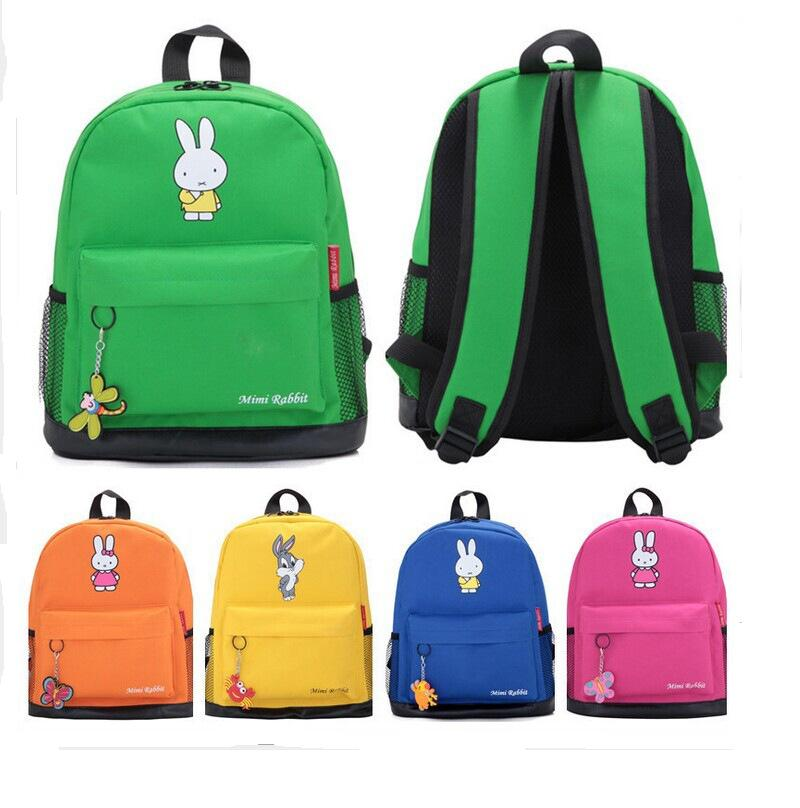 2016 Canvas Solid Infantis Mochila Escolar Fashion Children\'s Bag Baby Backpack Cartoon Cute , Exemption From Postage!!!!(China (Mainland))