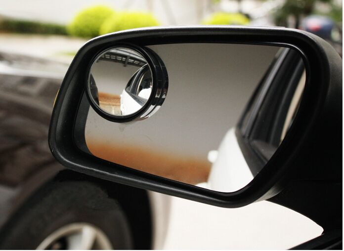 Car Wide Angle Round Convex Vehicle Mirror Blind Spot RearView For Mazda Cx-5 cx-7 CX-3 Mazda 2 3 6 MX5 Mitsubishi Lancer(China (Mainland))