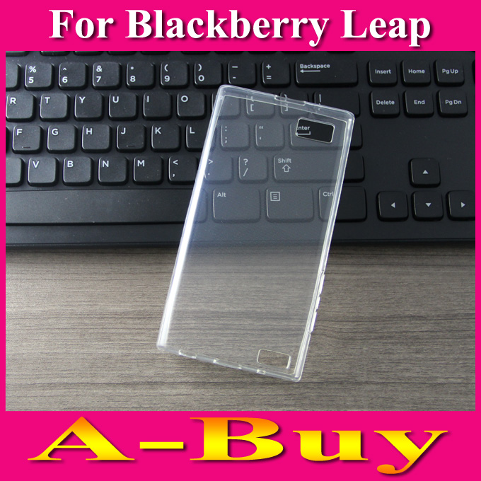 Clear Transparent Soft TPU Case Cover For Blackberry Leap(China (Mainland))