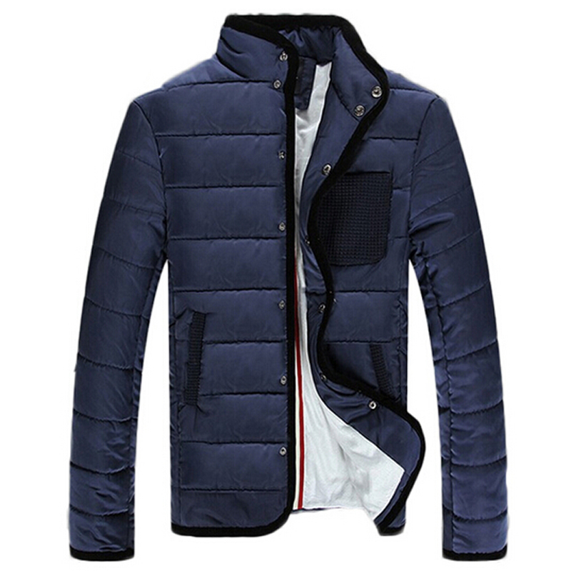 Winter Men Coats 2015 New Fashion Slim Fit Coats Mens Parkas Thickening Outdoor Jackets Plus Size