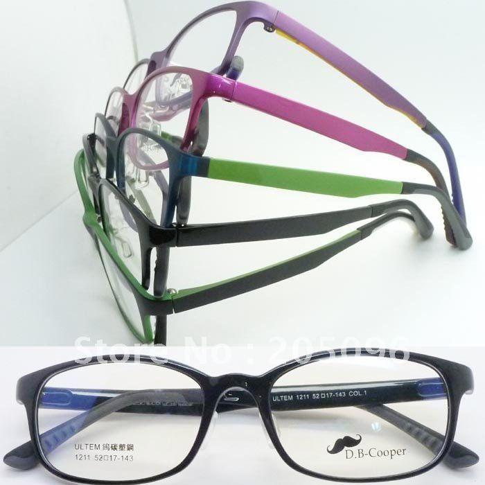 Bendable Metal Eyeglass Frames : Wholesale 1211 plastic steel ULTEM full rim with bendable ...