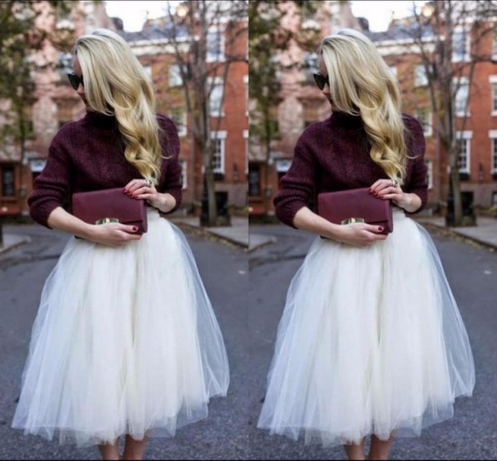 aliexpress buy debutante style white tulle skirt