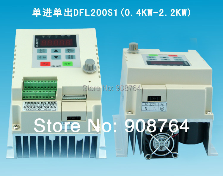 VFD019# 2KW 220V  VARIABLE FREQUENCY DRIVE INVERTER VFD  single phase input single phase output<br><br>Aliexpress