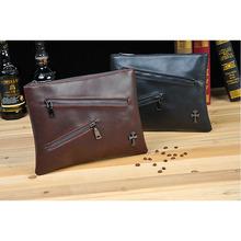 New men's handbag  Korean male envelope bag  retro  male briefcase  6855(China (Mainland))