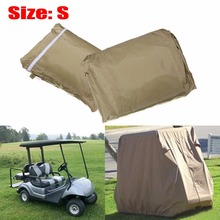 1Pcs  4 Passenger Golf Cart Cover for EZ GO Golf Cart Club Car Waterproof , Size S(China (Mainland))