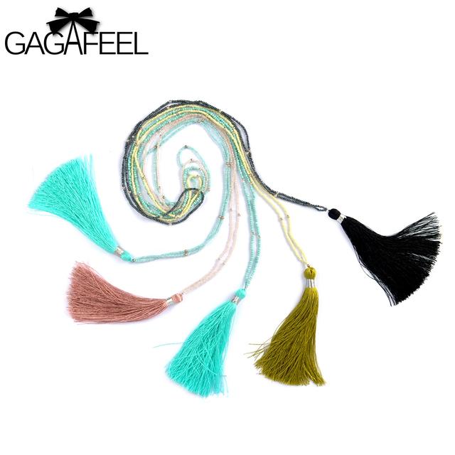 Gagafeel чешские кисточкой ожерелья заявление старинные ручной Воротникe ювелирные ...