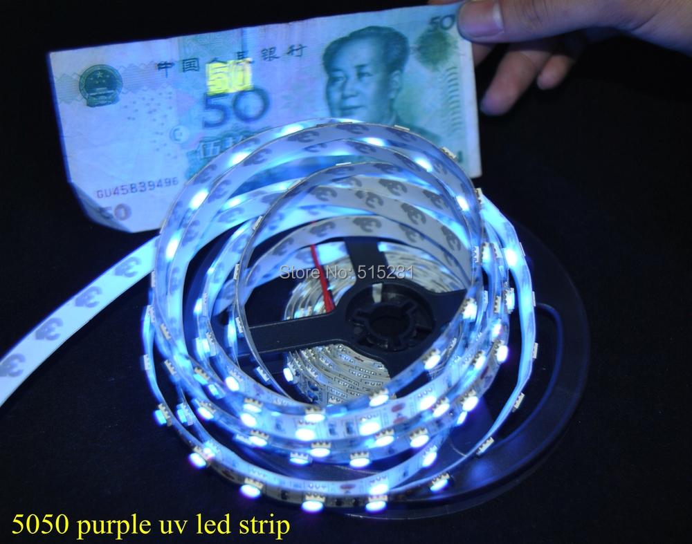 New Arrival High Brightness SMD UV Ultraviolet LED Strip ...