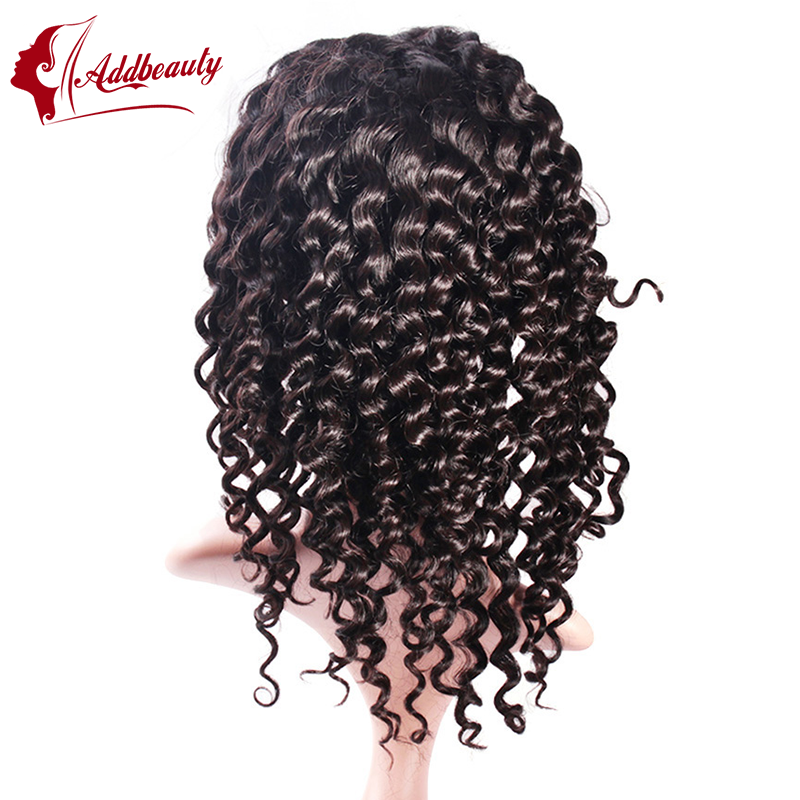6A Unprocessed Brazilian Deep Wave Full Lace Wigs Glueless Full Lace Wig Remy Hair Wigs Full lace Front Wig