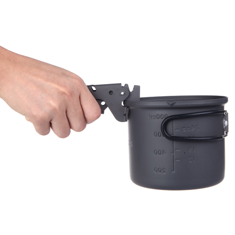 Top Quality Outdoor Camping Picnic Cookware Pan Bowl Pot Gripper Clip Hand Clamp Anodized Aluminum Anti Scald(China (Mainland))