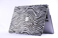 "New Arrival Shell Skin Case For Macbook Air11"" 13"" For MacBook Pro13"" 15"",Zebra Grain Case Cover for Macbook Air&Pro 11"" 13"" 15"""