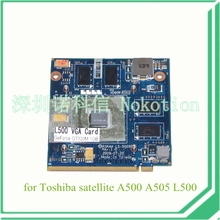 K000092390 KSKAA LS-5005P For Toshiba satellite A500 L500 A505 Laptop graphics card GPU board nvidia geforce GT330M 1GB memory