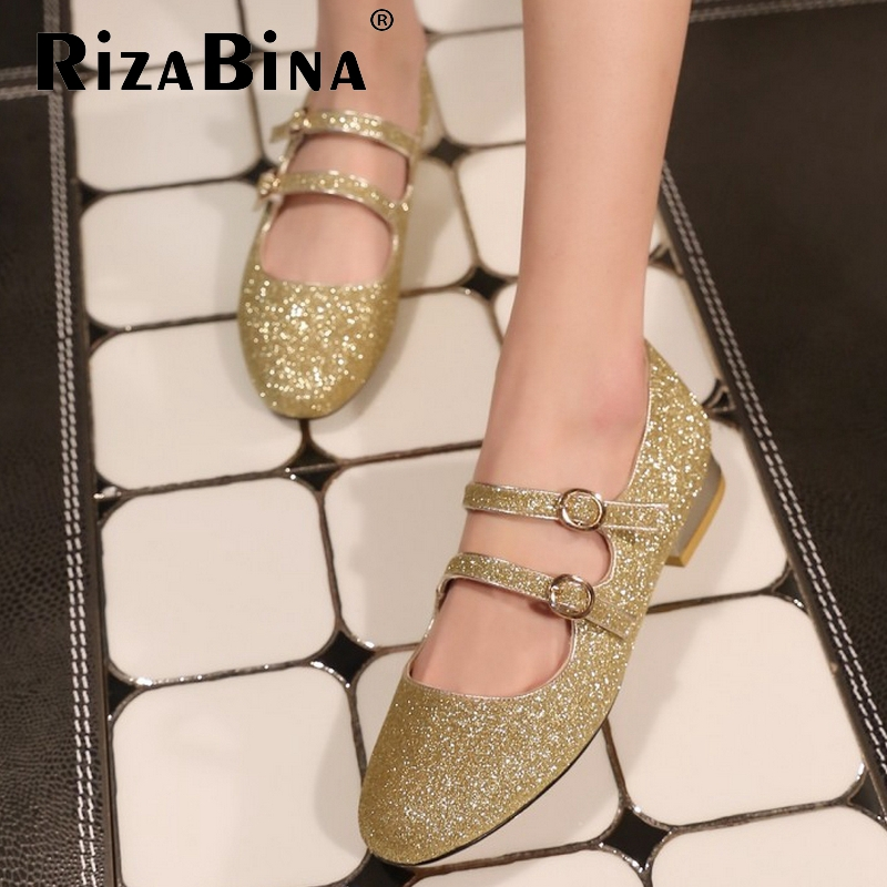 ladies real genuine ballet flats shoes woman sexy buckle casual zapatillas mujer fashion brand  women shoes size 34-39 R7166<br><br>Aliexpress