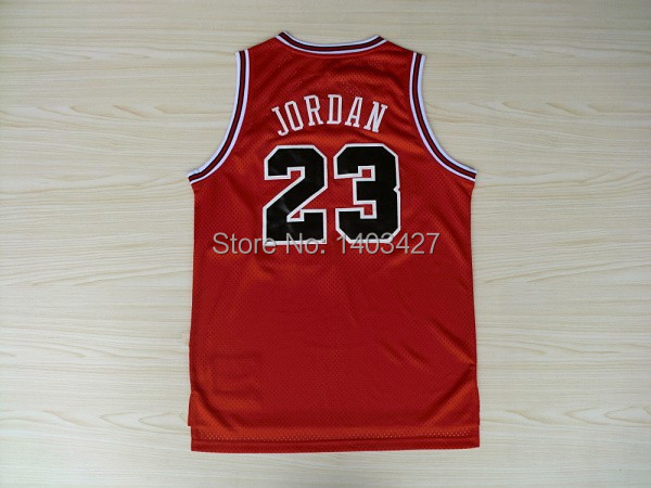 Lowest Price Wholesale Red Chicago #23 Michael Jordan Basketball Jersey Retro Cheap Throwback Basketball Jerseys Free Shipping(China (Mainland))
