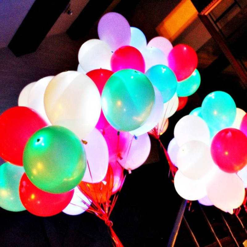 Colorful LED Balloon Light Party Decoration Wedding Souvenir Led Balloon Lights For Wedding Decoration A6(China (Mainland))