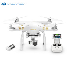 DJI Phantom 3 4K Camera Drone with 12MP Lens 3-Axis Gimbal WIFI and 25 Minutes Flying GPS 2016