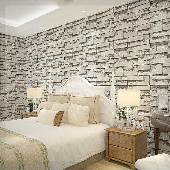 Aliexpress.com : Acquista Moderno naturale grigio rustico mattoni ...
