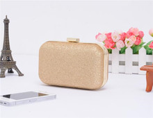 The new 2016 Free Shipping Evening bag Crossbody Women 7 color Clutch Bags party wedding bride purse hand bags HBF02