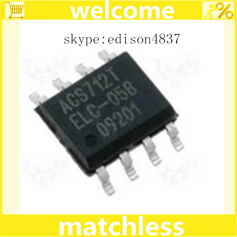10PCS/LOT ALLEGRO ACS712 ACS712T ACS712ELCTR ACS712ELCTR-05B 5A 5V BI 8-SOIC CURRENT SENSOR IC (ACS712ELCTR-05B-T)(China (Mainland))