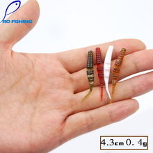 Pesicartificials 20pcs/bag 3.5g 9.5cm for Japan Shad Soft Fishing Worms Swimbaits fishing lures Baits sets Mighty Bite