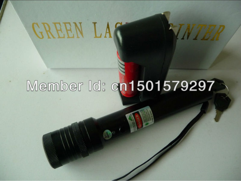 a+Wholesale - laser pointers 500mw 1000mw green laser pointers burn match pop balloon(China (Mainland))