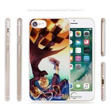 Kingdom Hearts anime Transparent Case Cover apple iphone 4 4s 5 5s SE 6 6s 7 7s plus i4 i5 i6 i7 - AlexMohoo Store store