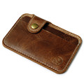 wallet men luxury brand Credit Card wallets brown Slim Mini Wallet ID Case Purse Bag Pouch