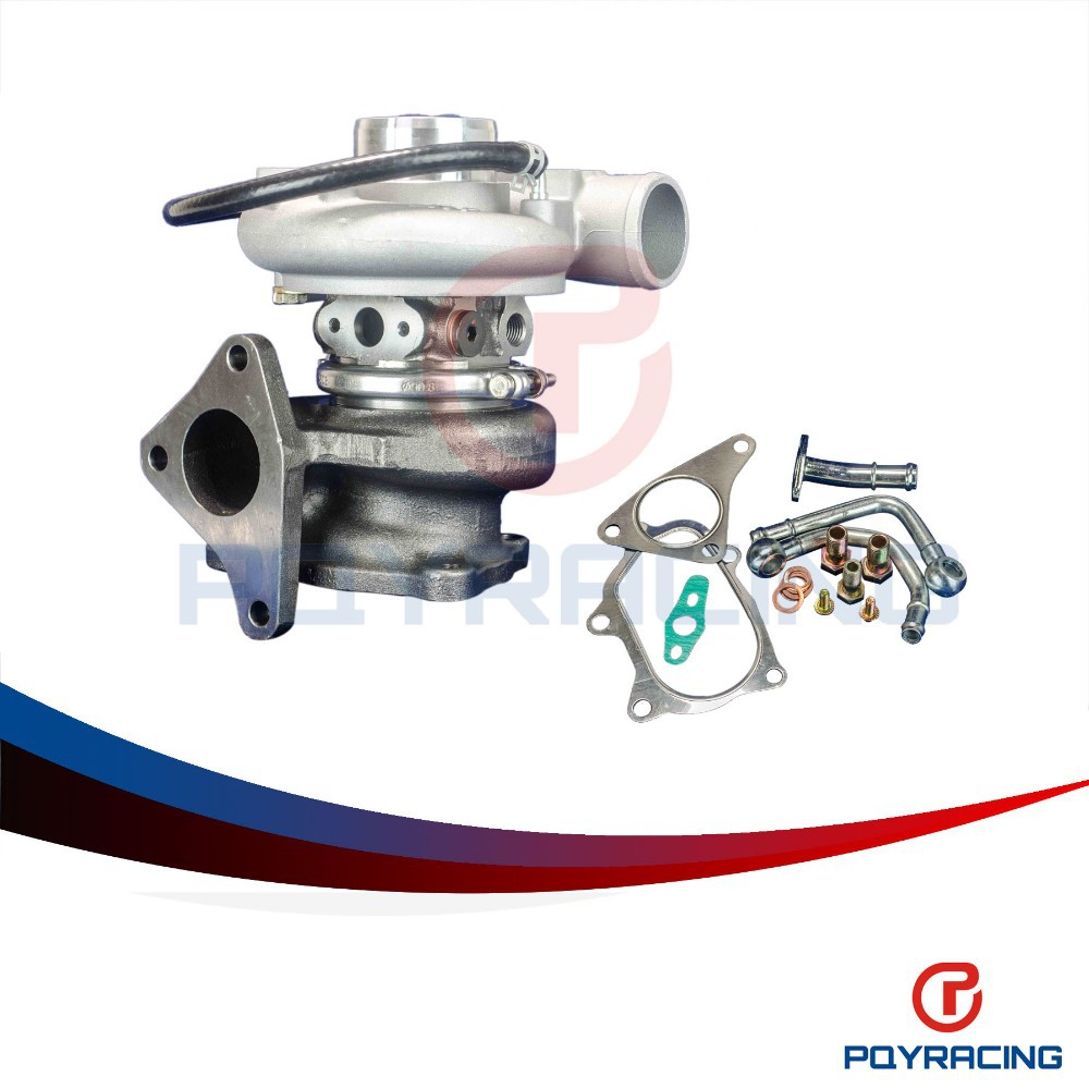 PQY STORE- TD05-20g-8 TURBOCHARGER for Subaru WRX EJ20 EJ25 with actutor  PQY-TURBO037