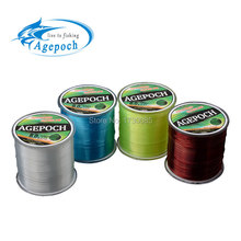Agepoch 500 m Japan NT30 Material Leader Lead Nylon Monofilament Fishing Line Rope The Peche  Cord Wire Peche Carp Winter Thread(China (Mainland))
