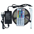 Waterproof RGB Led Strip 5050 5M IP65 Flexible Led Tape Ribbon 44key RGB Remote controller DC12V