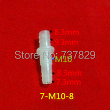 7-M10-8 plastic quick straight joint, plastic straight fittings for water supply, hose connector, tube fittings(China (Mainland))