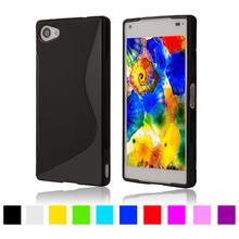 Buy S Line Silicone Rubber Soft Plastic TPU Cover Sony Xperia Z5 Compact E5803 E5823 / Xperia Z5 Mini Back Skin Phone Cases for $2.28 in AliExpress store