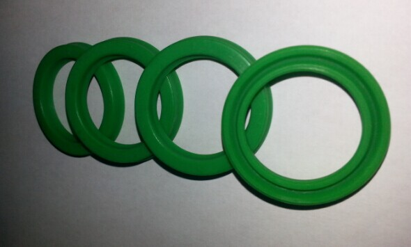 20pcs Green UN 23.5*31.5*5 23.5x31.5 5 U Cup Pneumatic Hydraulic Cylinder Rod O Ring Gasket Oil Seal