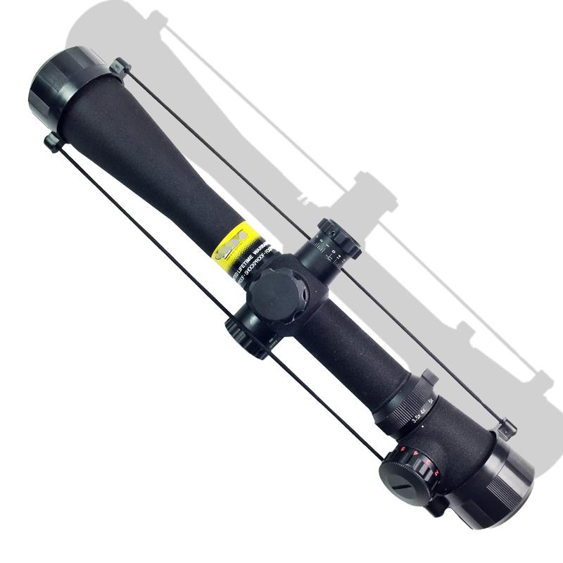 Фотография Military Hot Sale M1 3.5-10X40 E Hunting Riflescope Mil Dot Red Green Illuminated Tactical Optical Sight